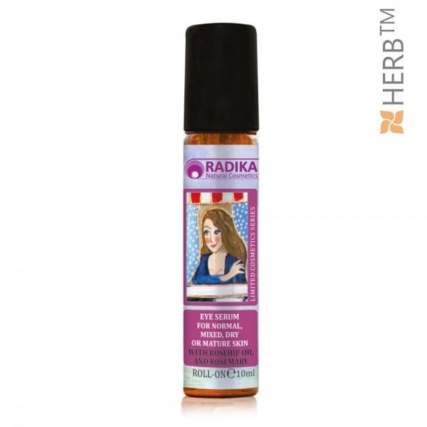 Around Eye Roll-On Serum with Rosehip oil and Rosemary, RADIKA, 10ml