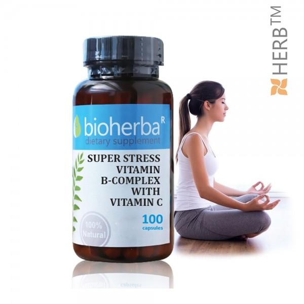 super stress vitamin, в complex, vitamin c, супер стрес