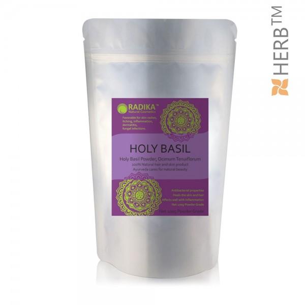 Holly Basil powder, hair powder, radish