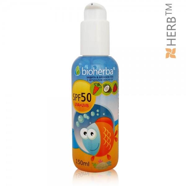 слънцезащитен крем, биохерба