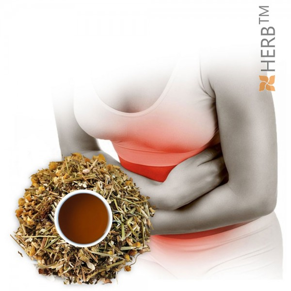 tea for flatulence, flatulence herbs, anticolitis herbs, herbal tea