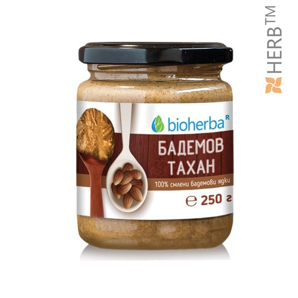 БАДЕМОВ ТАХАН 100% смлени бадемови ядки, 250гр