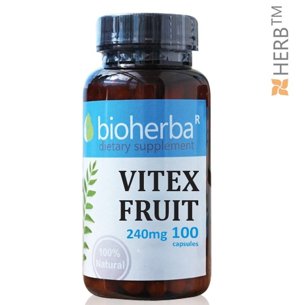 витекс плод, биохерба, хормонален дисбаланс