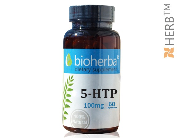 5 HTP 100МГ, 60 КАПСУЛИ