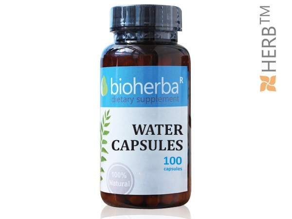 WATER CAPSULES FOR WEIGHT LOSS 100 CAPSULES