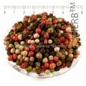 Pepper melange whole seeds, Peppercorns Mixed,Piper nigrum, Schinus terebinthifolius, HERB TM