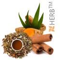 Tea with Cinnamon & Turmeric, Herbal Tea Blend, HERB TM