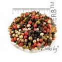 PEPPER MELANGE WHOLE SEEDS Piper nigrum, Schinus terebinthifolius