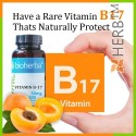 Vitamin B17, ( extract apricot seeds ), Bioherba, 100 caps x 50 mg; From apricot seeds 5000 mg vitamin B17 capsules