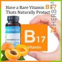 Vitamin B17, ( extract apricot seeds ), Bioherba, 100 caps x 50 mg; From apricot seeds 5000 mg vitamin B17 capsules