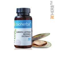 GREEN-LIPPED MUSSEL EXTRACT / ЗЕЛЕНОУСТА МИДА ЕКСТРАКТ 60 КАПСУЛИ