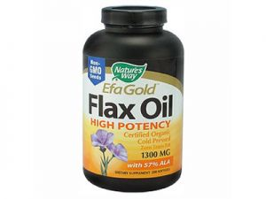 efagold,flax oil, nature's way