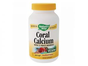 coral calcium, nature's way