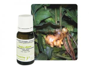 pramarom, essential oils, ginger
