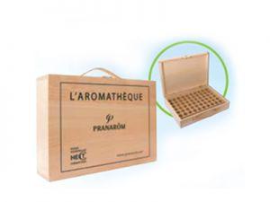 wood, briefcase, essential oils, pranarom