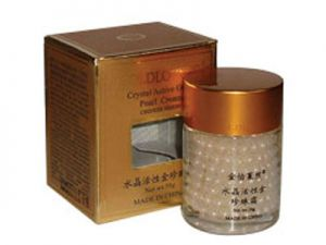 cream with active gold ginseng, nourishing the skin