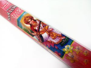 incense sticks, waving incense sarasvati 20 pcs