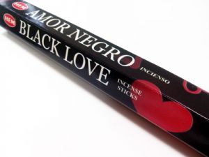 incense sticks,amor negro 20 pcs