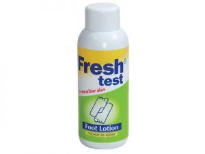 fresh test,foot lotion, farmadent, pharmadent,