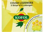 Kofol Honey and Lemon Candies x 12pcs